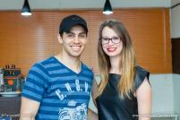 Rogerio Volgarine e Amanda Felipe Reitenbach