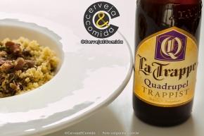 Cerveja La Trappe Quadrupel Trappist